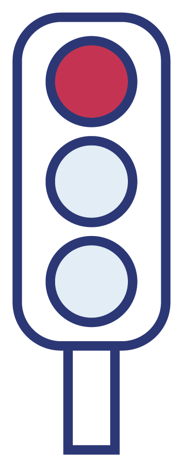 Illustrasjonsbilde av trafikklys